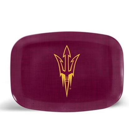 Picture of ThermoServ Melamine Arizona State University Dinnerware Set
