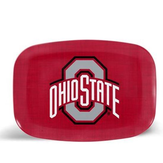 Picture of ThermoServ Melamine Ohio State University Dinnerware Set