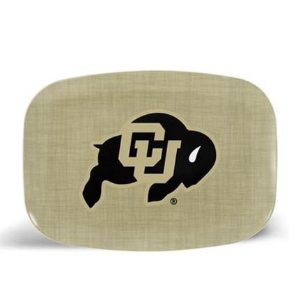 Picture of ThermoServ Melamine University of Colorado Dinnerware Set