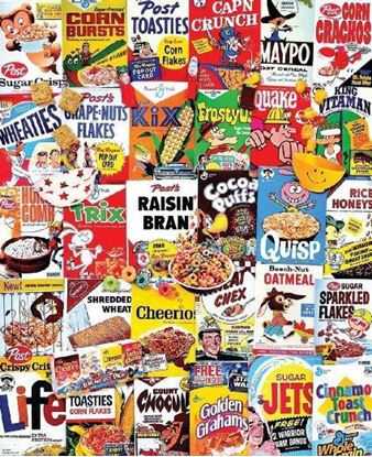 Picture of White Mountain Puzzles - Cereal Boxes
