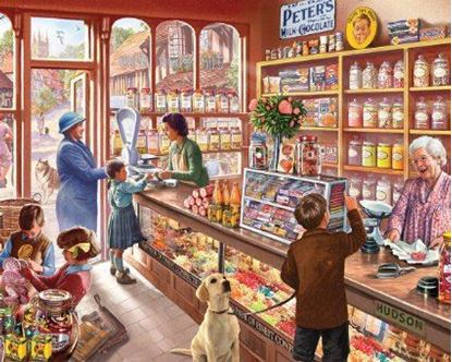 Picture of White Mountain Puzzles - Old Candy Shop