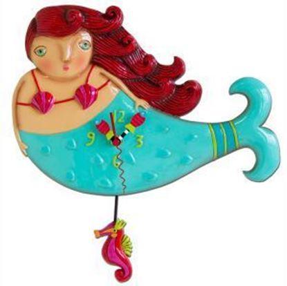 Picture of Allen Designs Studio Clock - Ruby Mermaid