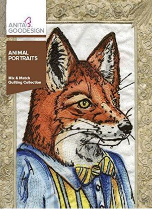 Picture of Anita Goodesign Embroidery Designs Animal Portraits