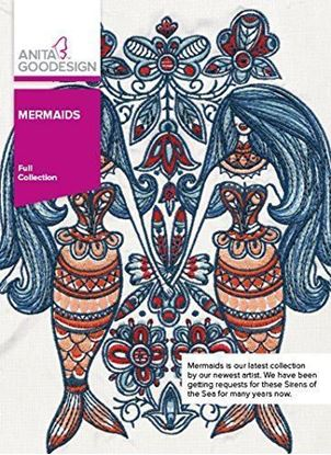 Picture of Anita Goodesign Embroidery Designs Mermaids