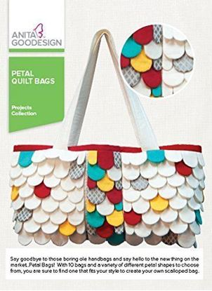 Picture of Anita Goodesign Embroidery Designs Petal Quilt Bags