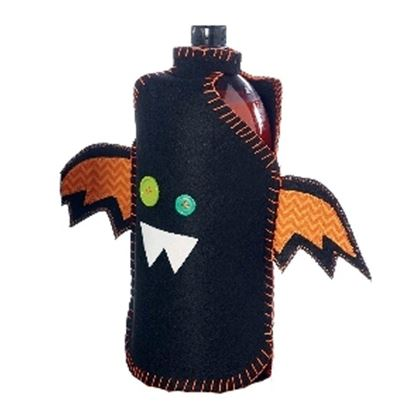Picture of Black Bat 2 Liter Drink Bottle Cover