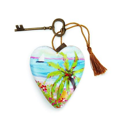 Picture of Demdaco Art Heart Palm Tree
