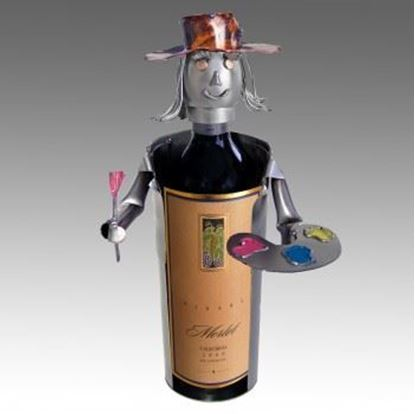 Picture of H & K Sculptures Steel Wine Caddy Artist