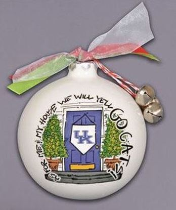 "Picture of Magnolia Lane ""As For Me And My House"" Holiday Ornament (University of Kentucky Wildcats)"