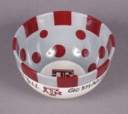 Picture of Magnolia Lane Ceramic Big Bowl Texas A&M Aggies