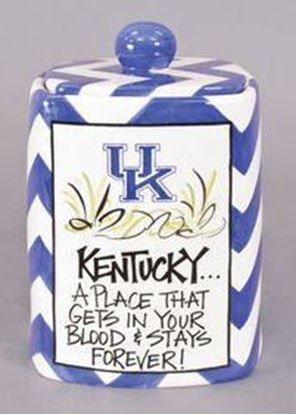 Picture of Magnolia Lane Ceramic Cookie Jar (University of Kentucky)