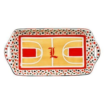 Picture of Magnolia Lane University of Louisville Basketball Court Serving Tray