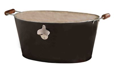 Picture of Mud Pie Chalkboard Beverage Tub, Black