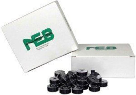 Picture of NEB Prewound Embroidery Bobbins Black
