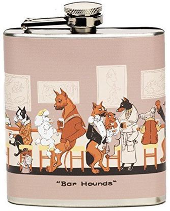 Picture of Original Depler Stainless Steel Flask Bar Hounds