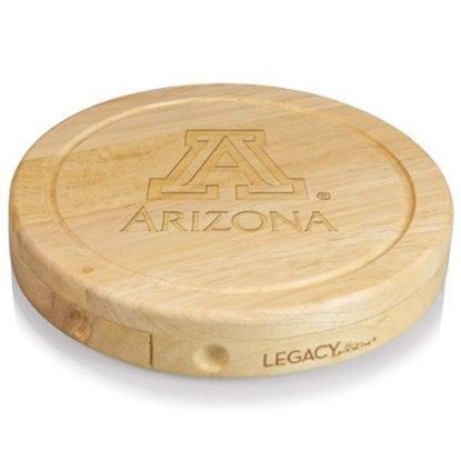 Picture of Picnic Time Circo Brie Cheese Set - University of Arizona