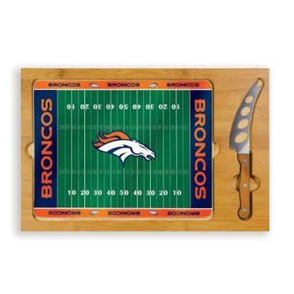 Picture of Picnic Time Icon 3-Piece Cheese Set - Denver Broncos