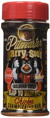 Picture of Pitmaster Harry Soo's Slap Yo Daddy BBQ Rubs Chicken Championship Rub Jailbird Chicken