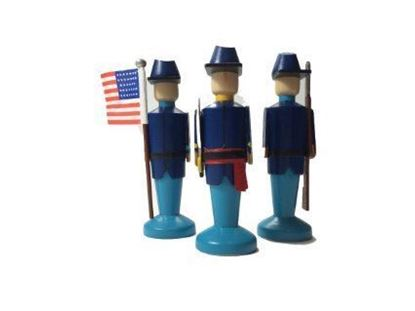 Picture of Regimental Colours Civil War Toys - Union Infantry Boxed Set