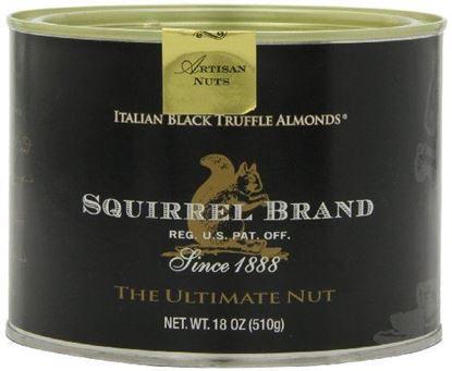 Picture of Squirrel Brand Co. Italian Black Truffle Almonds